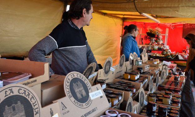 Éxito de los productos comarcales en la Feria Gastrónoma