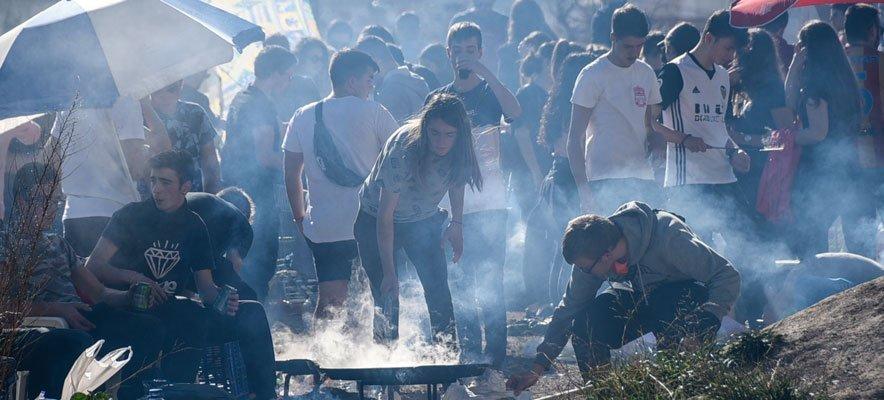 Masiva respuesta al concurso de paellas y actos de San Antón