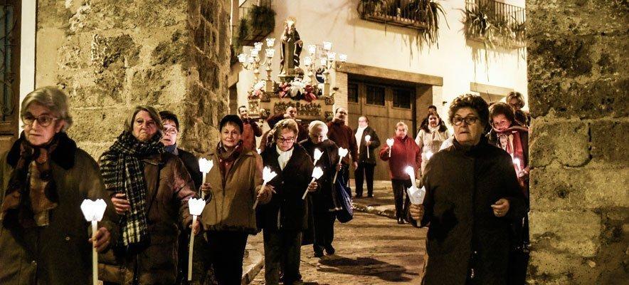 Traslado de la imagen de San Antón en Segorbe