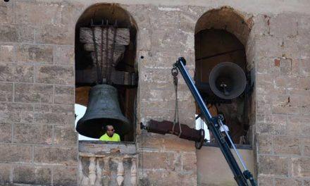 Envían a restaurar los cabezales de dos campanas de la Catedral de Segorbe