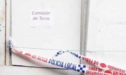 La Comisión de Toros de Segorbe sufre un robo en su garito