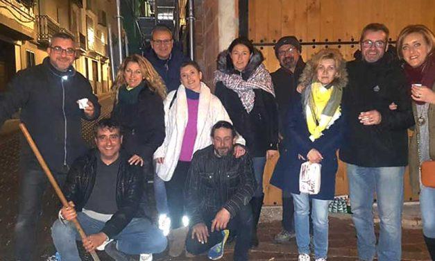 Un grupo de voluntarios se ocupó de organizar los actos de San Antón en Altura