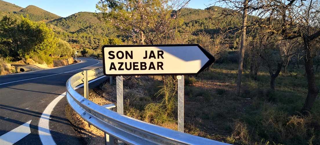 Los socialistas denuncian un «grave fallo» en la señalización de Soneja