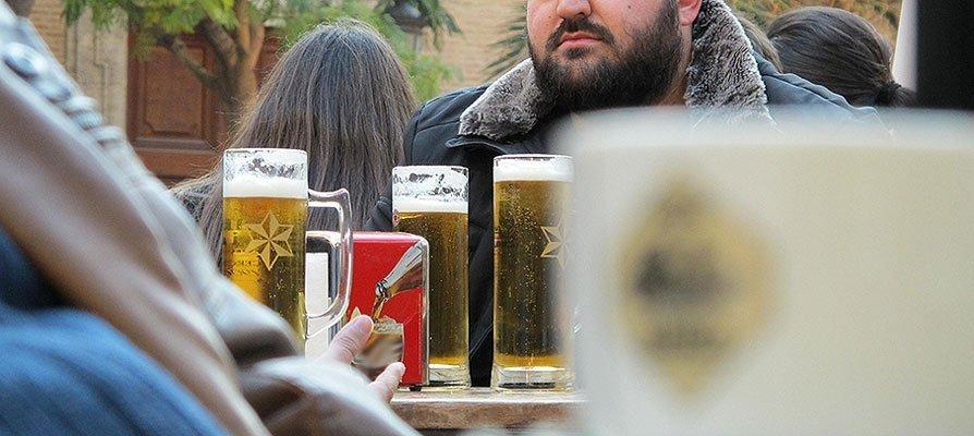 Una cervecita y unas papas