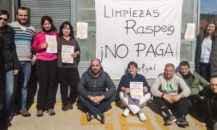 Huelga de limpiadoras de los institutos de Segorbe y Jérica-Viver
