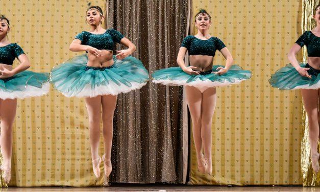 Ensayo general del alumnado de la Escuela de Danza Inma Muñoz