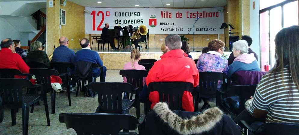 Castellnovo inicia hoy el XII Concurso de Jóvenes Intérpretes