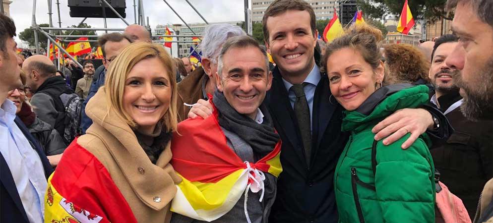 El PSOE provincial critica la asistencia de Barrachina  a la manifestación de Madrid