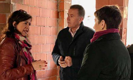 Sales visita la sede en obras de la Musical de Segorbe