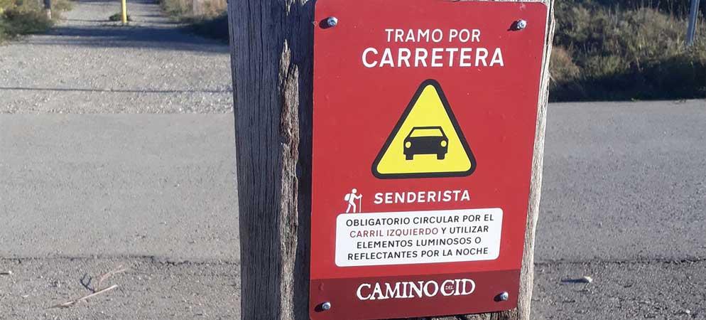 El Consorcio Camino del Cid conserva y señaliza más de 1.200Km.