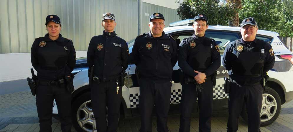 Segorbe mejora el equipamiento de la Policía Local