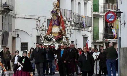 Jérica vive un día de inauguraciones en la festividad de Santa Agueda