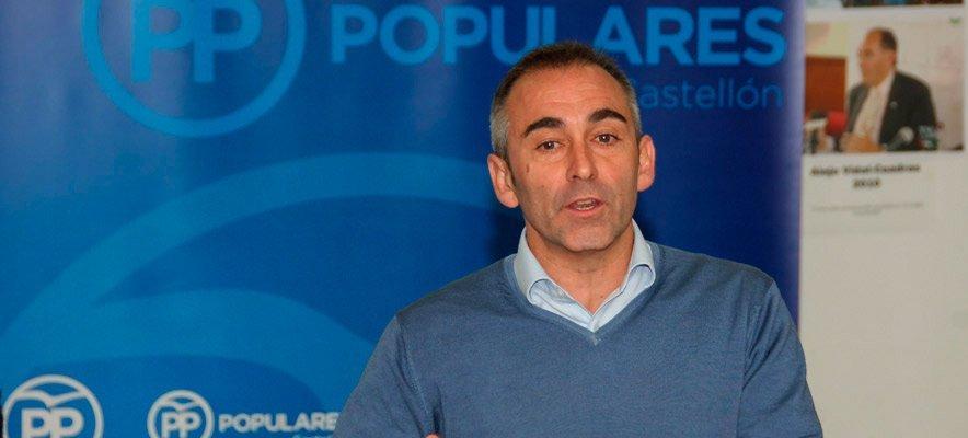 Barrachina acusa al Gobierno de dejar desatendido el interior