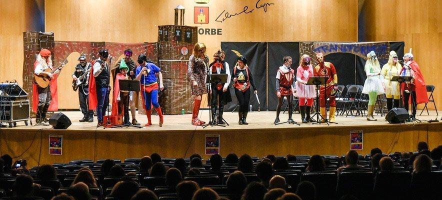 Segorhéroes de  La Liensa cantan las Murgas de Carnaval