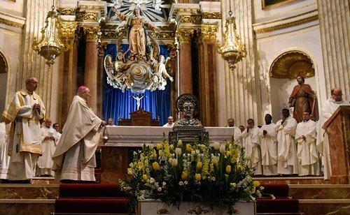 Mil personas se dan cita en Segorbe en una Peregrinación Vicentina