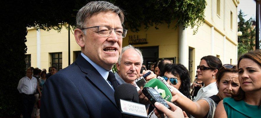 Ximo Puig adelanta las eleciones autonómicas al 28 de abril
