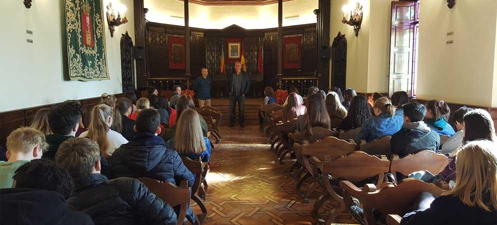 Intercambio de estudiantes alemanes con el IES Alto Palancia