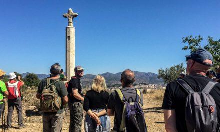 Exitosa ruta por las cruces y pilones de Altura
