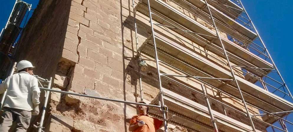 Inician la restauración de La Torreta de Jérica