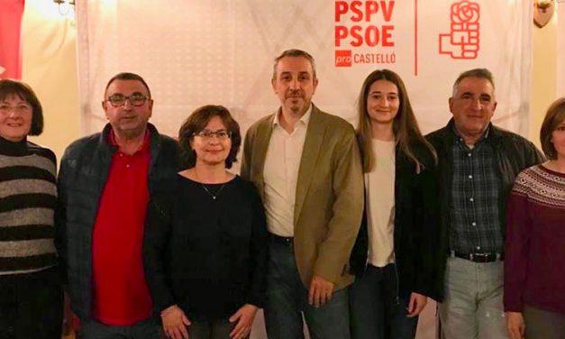 PSPV-PSOE Segorbe integra en su lista a históricos militantes