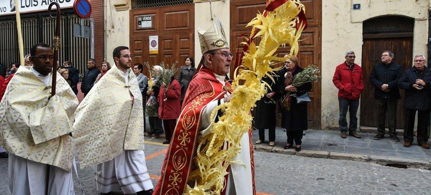 Segorbe celebra el Domingo de Ramos en el Seminario