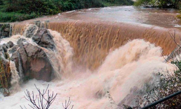 La lluvia obliga a cerrar la Cueva Santa y deja 124 l. en Torás