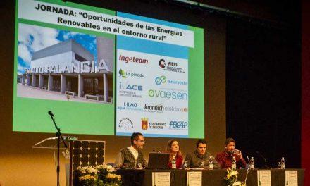 Las energías renovables a debate en el Teatro Serrano de Segorbe