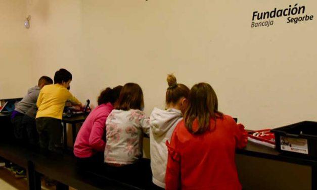 50 niños participan en la PequePascua de la Fundación Bancaja