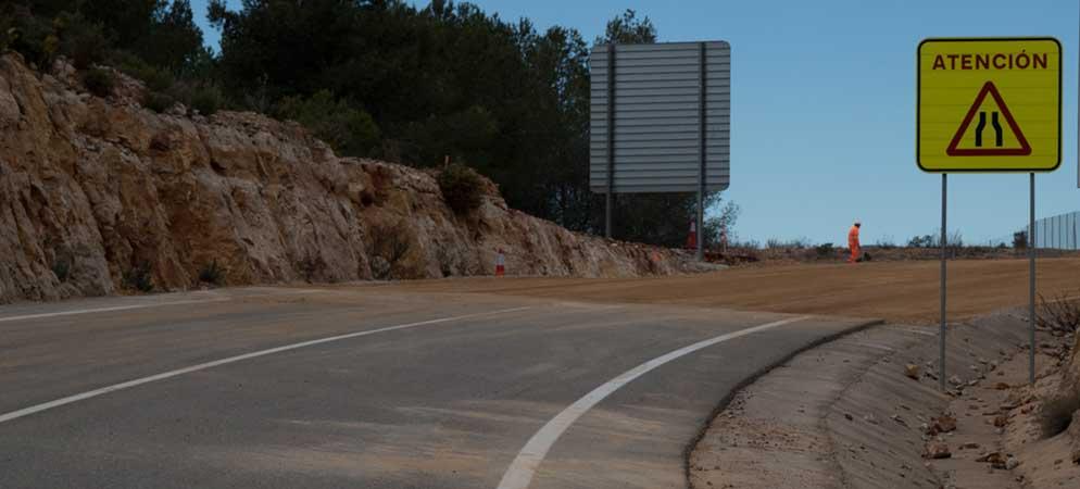 Diputación anuncia obras en las carreteras de la comarca