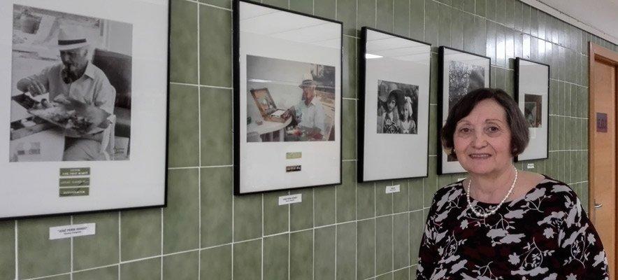 Amparo Garnes expone en el Edificio Glorieta
