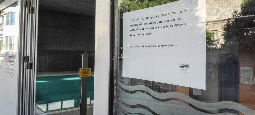 Una avería obliga a cerrar la piscina y el spa del CADES