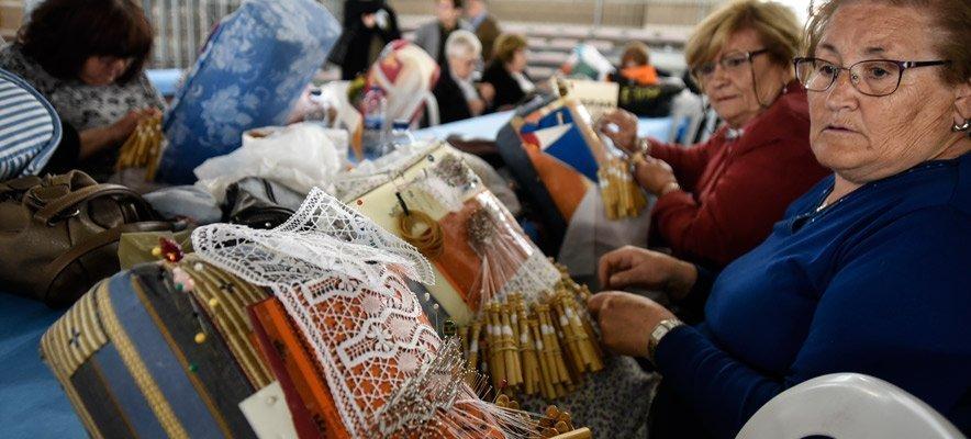 1.050 Bolilleras se dan cita en el XXIII Encuentro de Segorbe