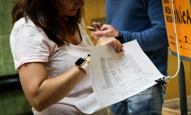 La Jornada electoral transcurre sin incidentes en la comarca