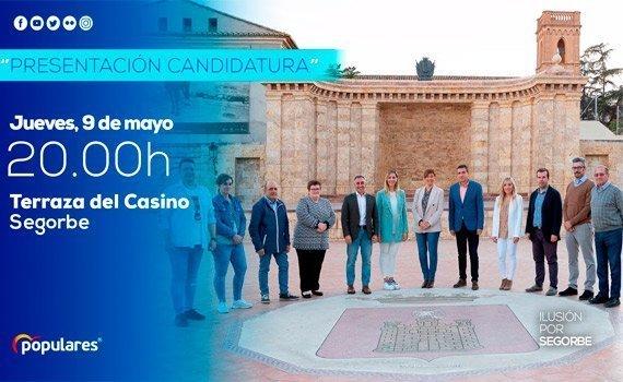 El PP presenta su candidatura en el Casino de Segorbe