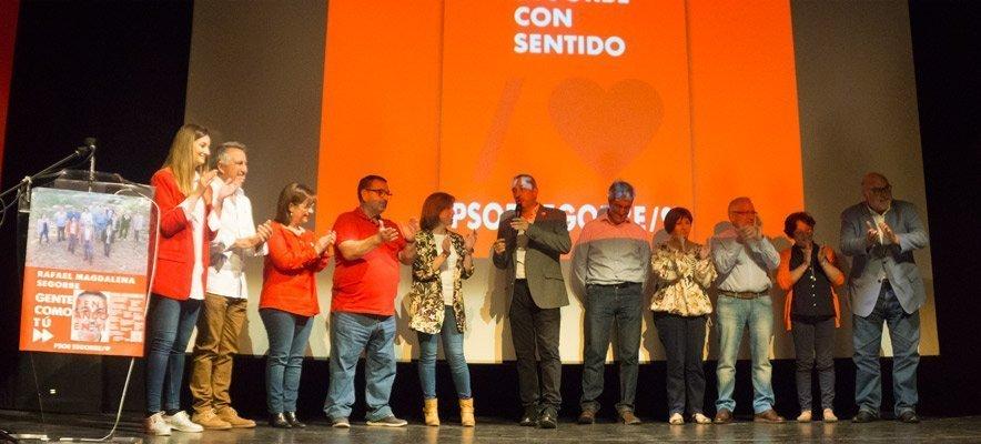 PSPV-PSOE Segorbe presenta a sus candidatos