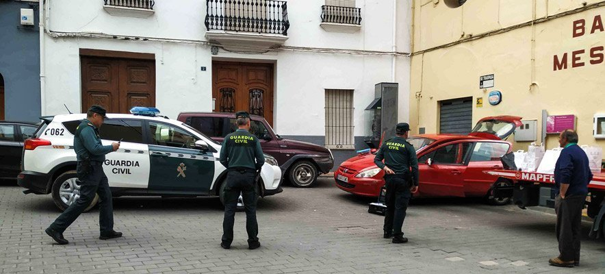 La Guardia Civil aborta un atraco en Soneja