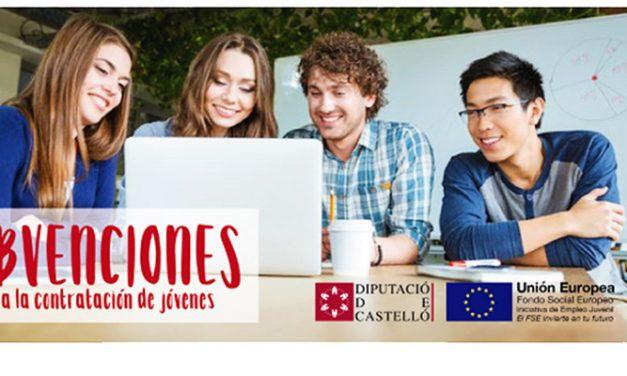 Diputación concede ayudas para la contratación de jóvenes