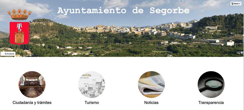 Segorbe moderniza y simplifica su página web