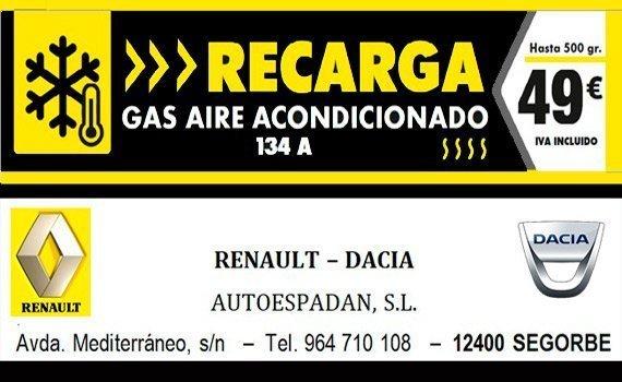 AUTOESPADAN GAS AIRE ACONDICIONADO