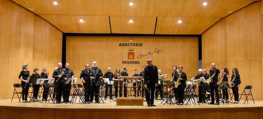 La Banda Senior de Segorbe hace un concierto a favor de DACEM