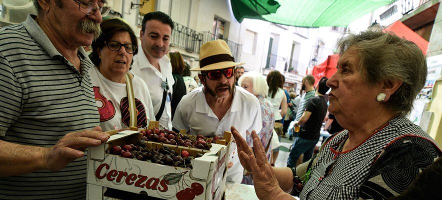 Caudiel celebra una exitosa Feria de la Cereza