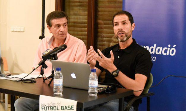 Iván Muñoz y la Fundación Bancaja ponen en valor los valores del fútbol
