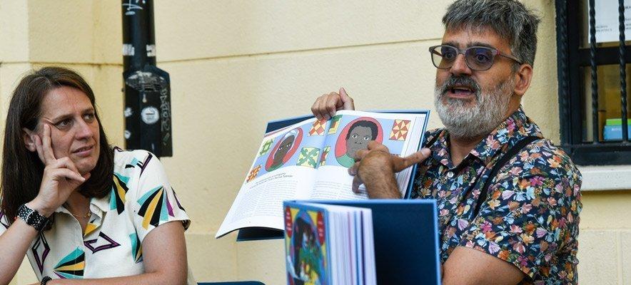 Presentan  «Herstory» en la replaceta de Centro Cultural de Segorbe