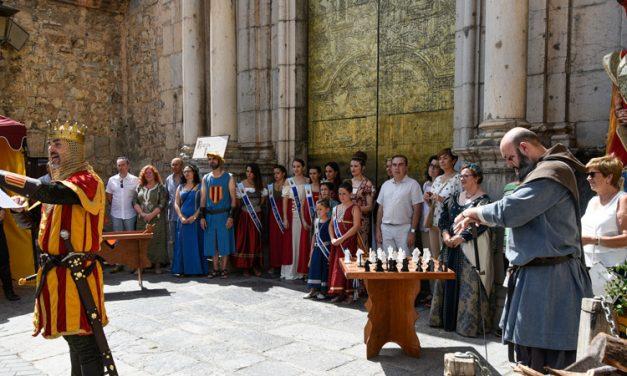 Jérica celebra un exitoso Mercado Medieval con olor a lavanda