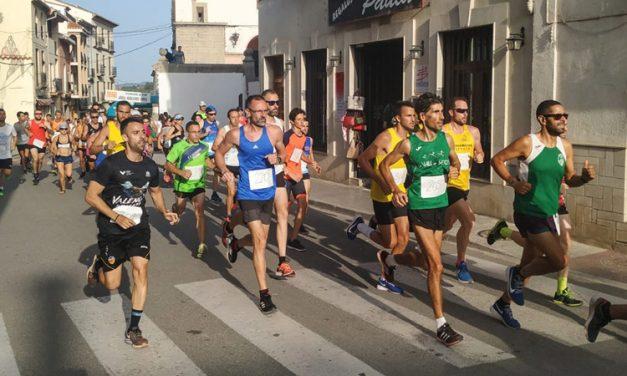 Más de 200 corredores participan en la XXIV Vuelta a Pie de Jérica