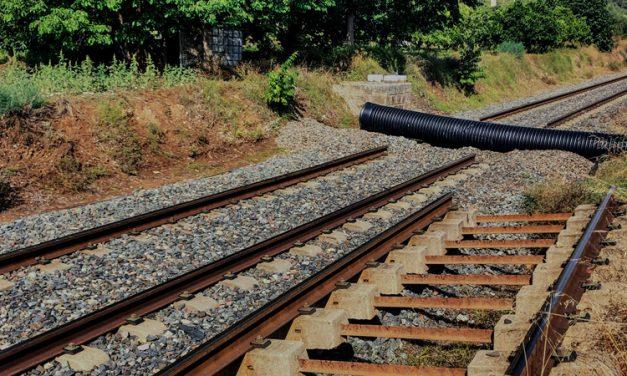 Las obras del apartadero de trenes de Navajas ya han comenzado