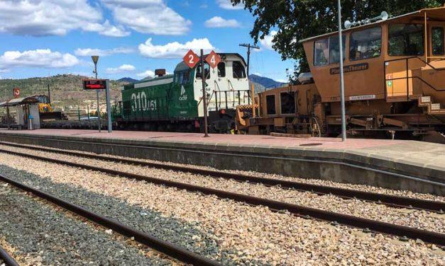 Adif restablece la circulación de trenes pro el Alto Palancia