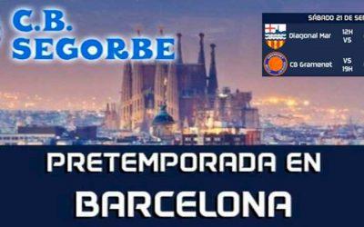 El CB Segorbe viaja a Barcelona en pretemporada