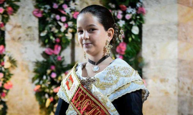 Lucía Magdalena es proclamada Reina Infantil de las Fiestas