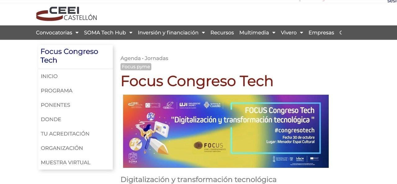 CEDES Segorbe organiza una jornada sobre digitalización y tecnología